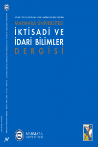 Marmara University Journal of Economic and Administrative Sciences
