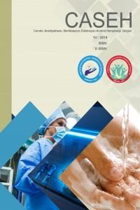 Cerrahi Ameliyathane Sterilizasyon Enfeksiyon Kontrol Hemşireliği Dergisi