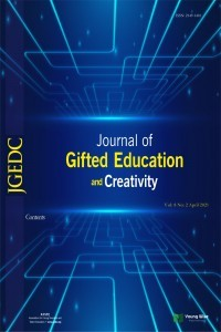 Journal of Gifted Education and Creativity