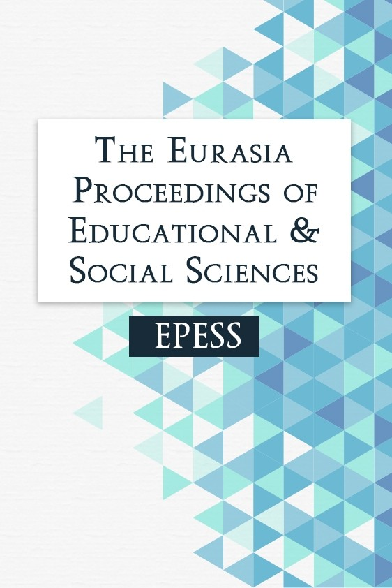The Eurasia Proceedings of Educational & Social Sciences