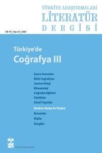Türkiye Araştırmaları Literatür Dergisi