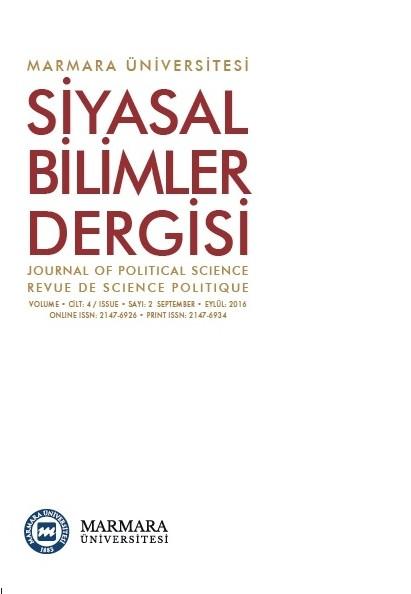 Marmara Üniversitesi Siyasal Bilimler Dergisi
