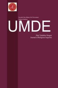 UMDE Dini Tetkikler Dergisi