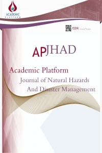 Academic Platform Journal of Natural Hazards and Disaster Management
