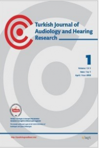 Turkish Journal of Audiology and Hearing Research