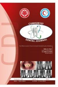 Cumhuriyet Dental Journal