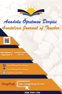 Anatolian Journal of Teacher