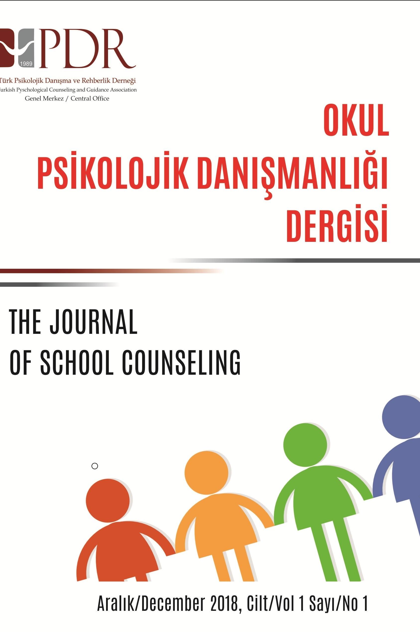 Okul Psikolojik Danışmanlığı Dergisi