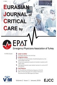 Eurasian Journal of Critical Care