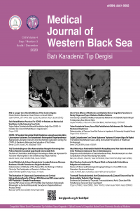 Batı Karadeniz Tıp Dergisi