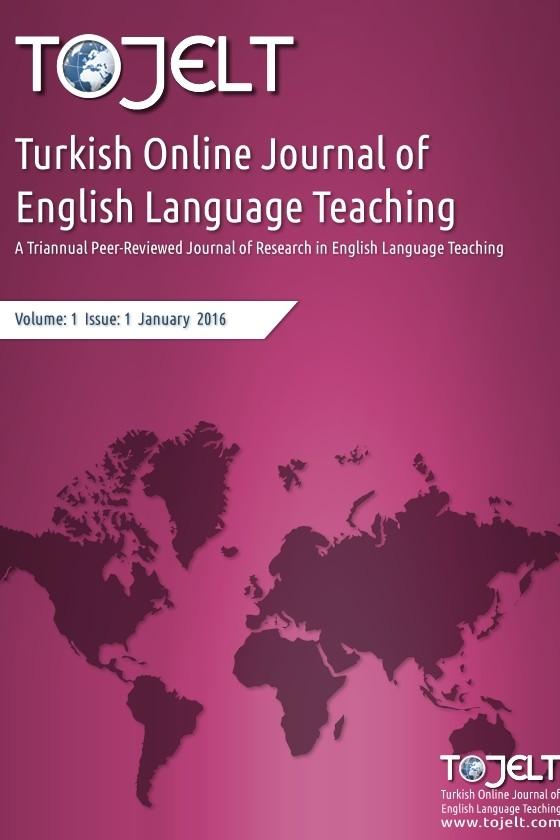 Turkish Online Journal of English Language Teaching » Dergi