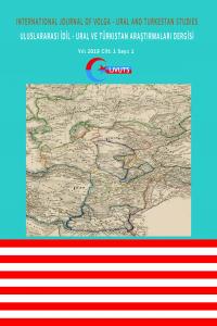 Uluslararası İdil - Ural ve Türkistan Araştırmaları Dergisi