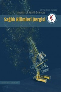 Suleyman Demirel University The Journal of Health Science