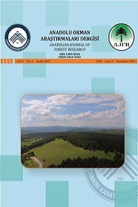 Anatolian Journal of Forest Research
