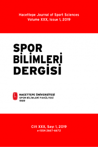 Hacettepe Journal of Sport Sciences