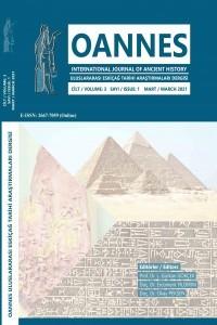 OANNES - Uluslararası Eskiçağ Tarihi Araştırmaları Dergisi