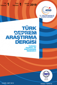 Turkish Journal of Earthquake Research