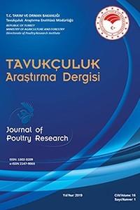 Tavukçuluk Araştırma Dergisi