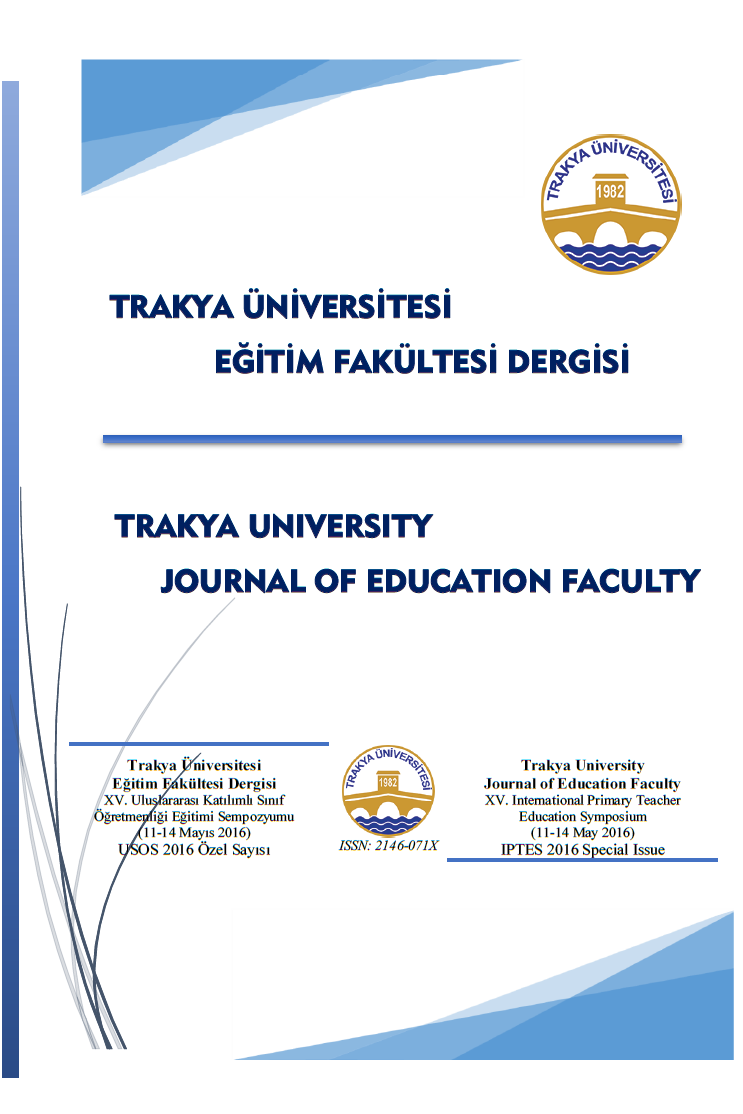 Trakya University Journal of Education