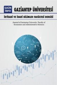 Gaziantep Üniversitesi İktisadi ve İdari Bilimler Fakültesi Dergisi