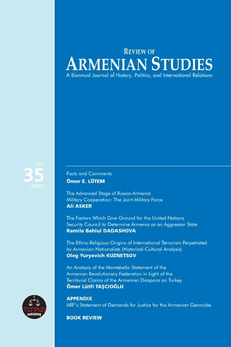 Review of Armenian Studies