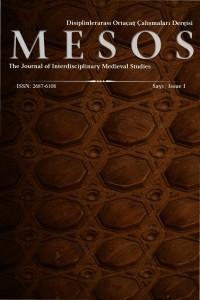MESOS Disiplinlerarası Ortaçağ Çalışmaları Dergisi