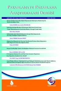 Pazarlama ve Pazarlama Araştırmaları Dergisi