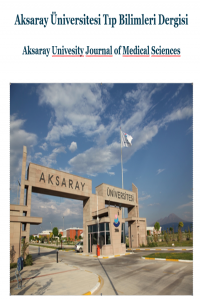 Aksaray Üniversitesi Tıp Bilimleri Dergisi