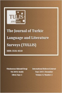 The Journal of Turkic Language and Literature Surveys (TULLIS)