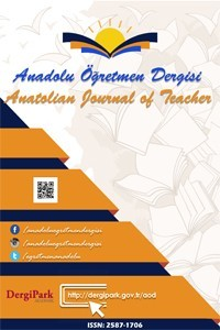 Anatolian Journal of Teacher