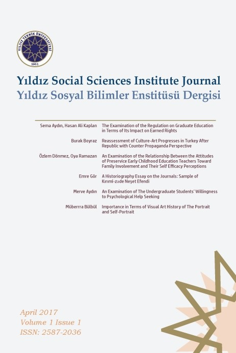 Yıldız Social Sciences Institute Journal