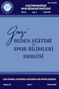 Gazi Journal of Physical Education and Sport Sciences