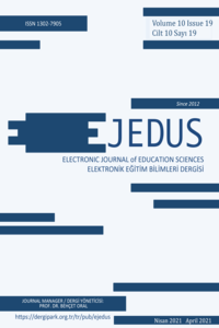 Electronic Journal of Education Sciences