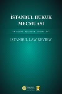 İstanbul Üniversitesi Hukuk Fakültesi Mecmuası