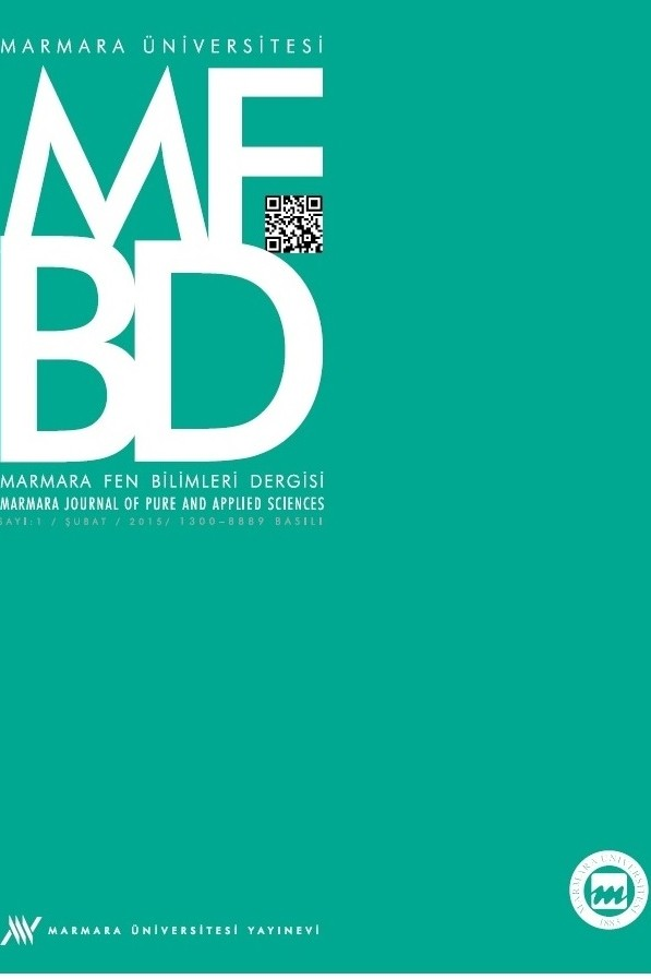 Marmara Journal of Pure and Applied Sciences