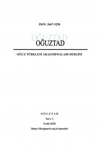 Journal Of Oghuz Turkish Researches