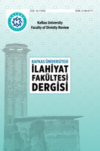 Kafkas University Faculty of Divinity Review