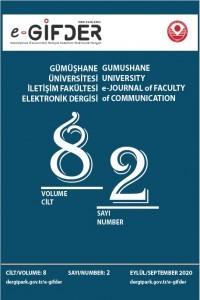 Gümüşhane Üniversitesi İletişim Fakültesi Elektronik Dergisi