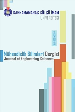 Kahramanmaras Sutcu Imam University Journal of Engineering Sciences