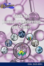 Black Sea Journal of Engineering and Science