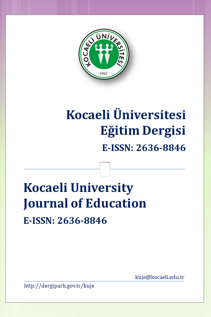 Kocaeli University Journal of Education
