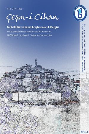 Çeşm-i Cihan: Tarih Kültür ve Sanat Araştırmaları Dergisi E-Dergisi