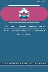 Sağlık Profesyonelleri Araştırma Dergisi
