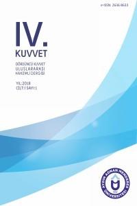 Dördüncü Kuvvet Uluslararası Hakemli Dergi