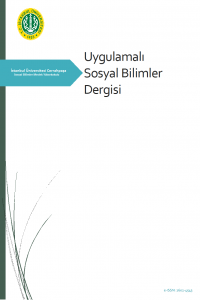 Applied Social Sciences Journal of Istanbul University