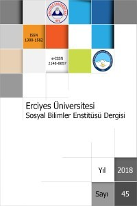 Erciyes Üniversitesi Sosyal Bilimler Enstitüsü Dergisi