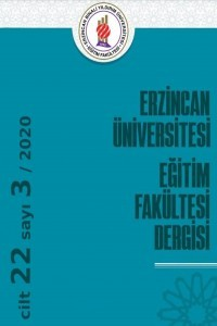 Erzincan University Journal of Education Faculty