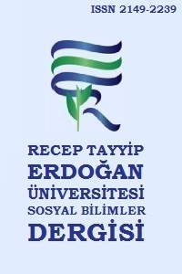 Recep Tayyip Erdoğan University Journal of Social Sciences