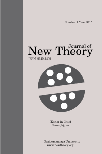 Journal of New Theory