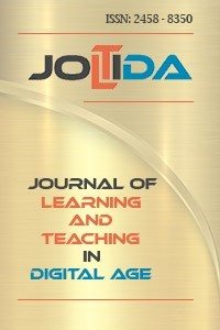 Journal of Learning and Teaching in Digital Age